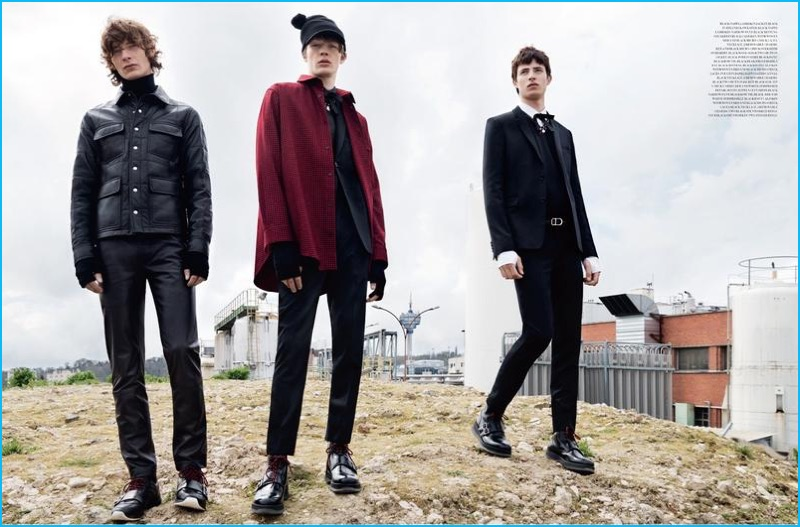 Dior Homme 2016 Fall Winter New Wave Editorial