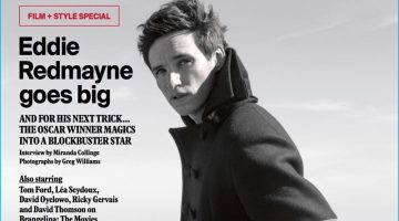 Eddie Redmayne Covers Esquire UK, Reflects on Oscar Win