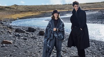 Simon Nessman & Ryan Keating Take to Iceland for Esquire China Story