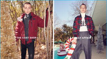 Yuri Pleskun Reunites with Forward for Holiday Lookbook