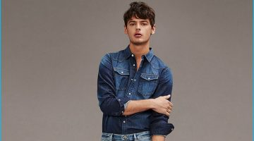Jacob Morton Goes Casual with Frame Denim