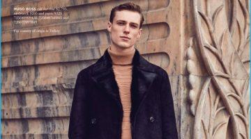 Tommaso de Benedictis Models Sleek Fall Style for Hudson's Bay