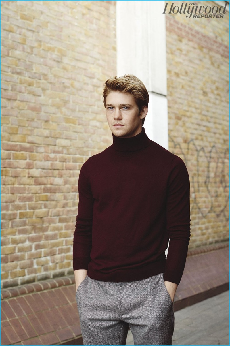 Joe Alwyn Poses for The Hollywood Reporter, Talks 'Billy ...