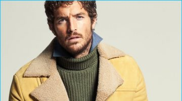 Justice Joslin Sports Shearling Outerwear for Robb Report