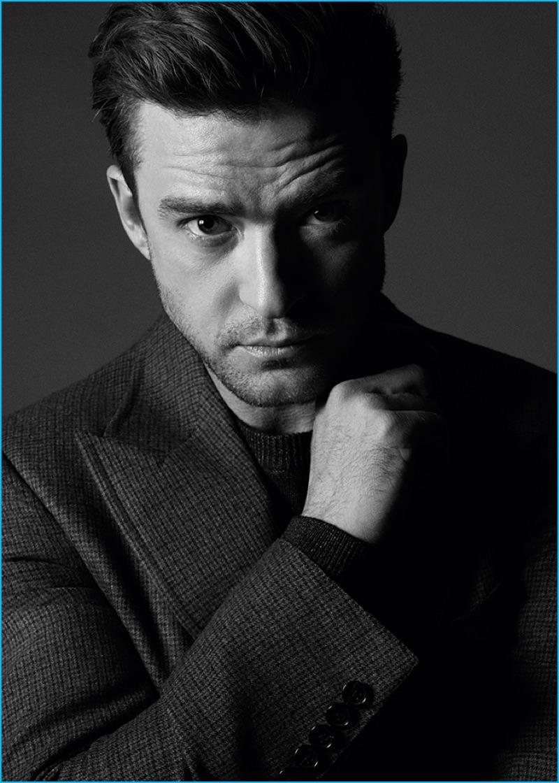 Tom Munro photographs Justin Timberlake for Variety magazine.