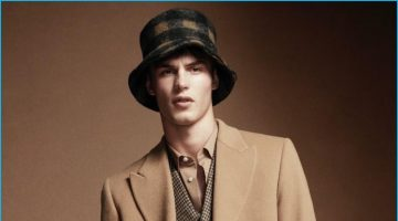 Kit Butler Dons Chic Fall Fashions for Wool Cover Shoot