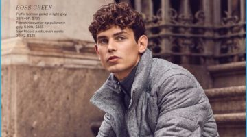 Arthur Gosse Models Fall Neutrals for Lord & Taylor