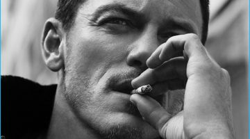 Luke Evans Covers Essential Homme, Talks Playing Gaston