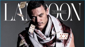 Luke Evans Covers The Fashionable Lampoon, Talks Aesthetics & Fashion