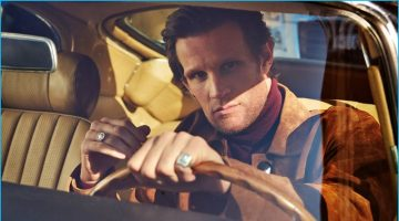 Matt Smith Hits the Town with Mr Porter, Talks 'The Crown'