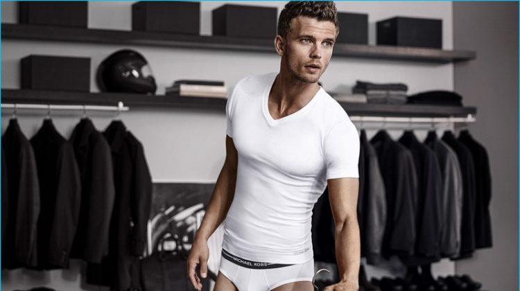 Benjamin Eidem Stars in New Michael Kors Underwear Ad Campaign