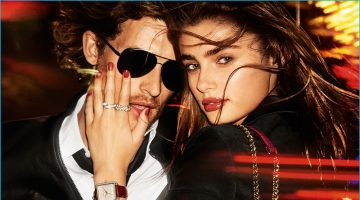 MICHAEL by Michael Kors Takes in City Lights for Holiday Campaign