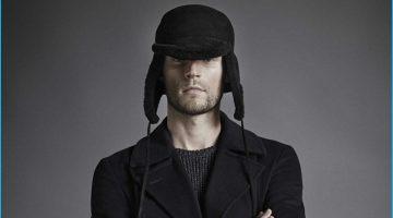 Mikus Lasmanis Models Fall Coats for GQ México