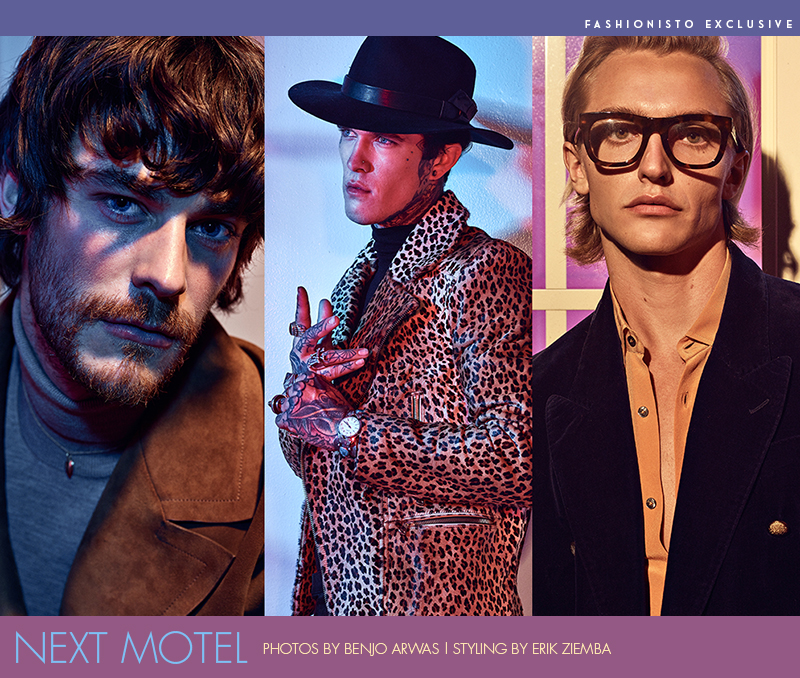 Fashionisto Exclusive: Next Motel photographed by Benjo Arwas