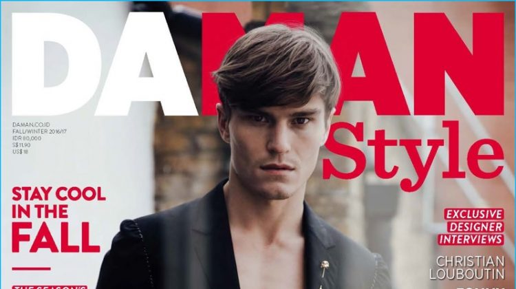 Oliver Cheshire Covers Da Man Style, Talks Highs & Lows of Modeling