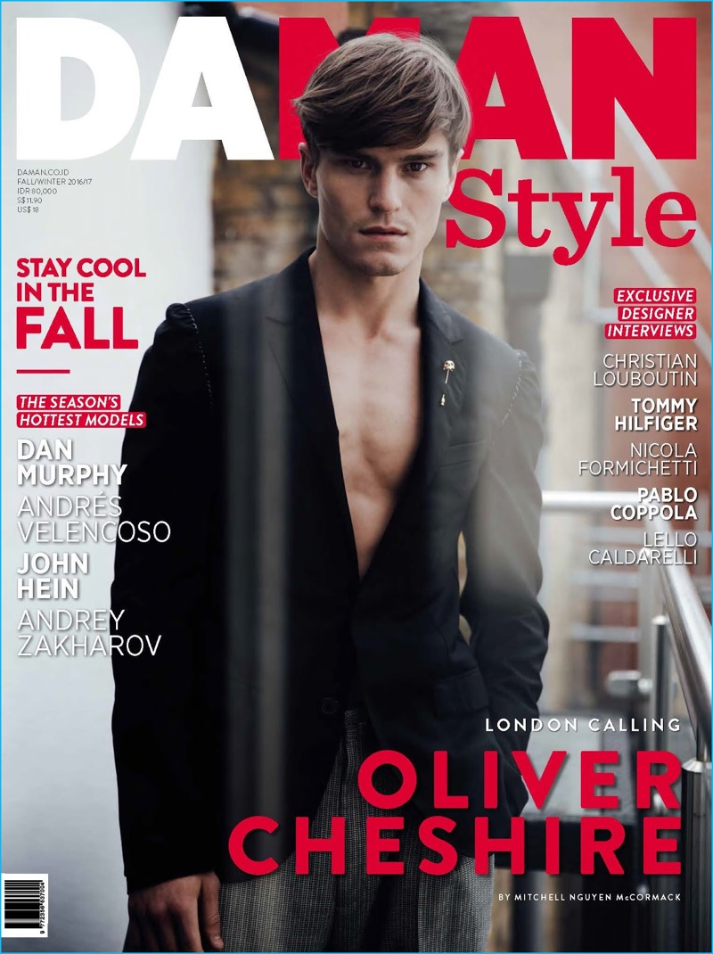 Oliver Cheshire covers the fall-winter 2016 edition of Da Man Style.