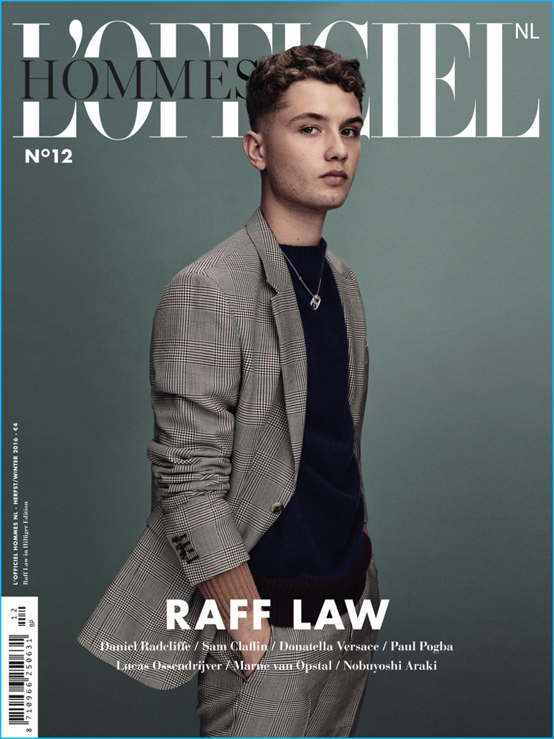 Rafferty Law Models Fall Tailoring for L'Officiel Hommes ...