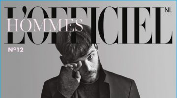 Sam Claflin Covers L'Officiel Hommes Netherlands, Shares Dream Roles
