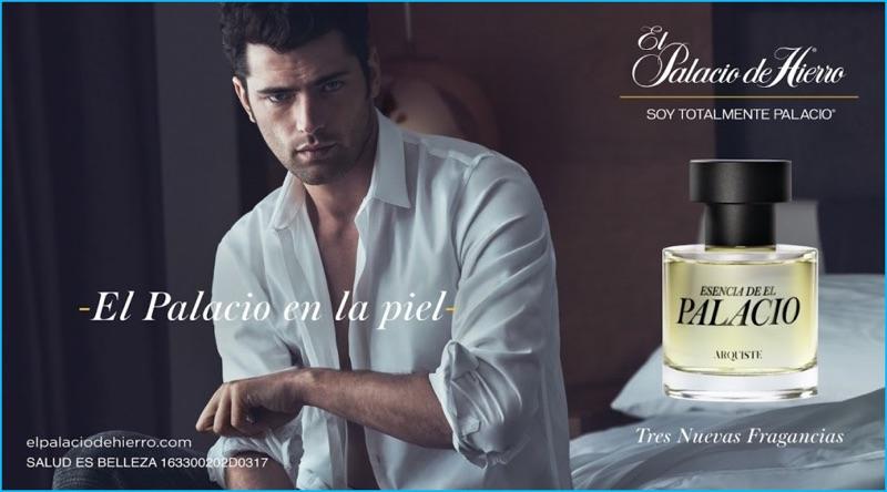 Sean O'Pry fronts the fragrance campaign of Esencia de El Palacio.
