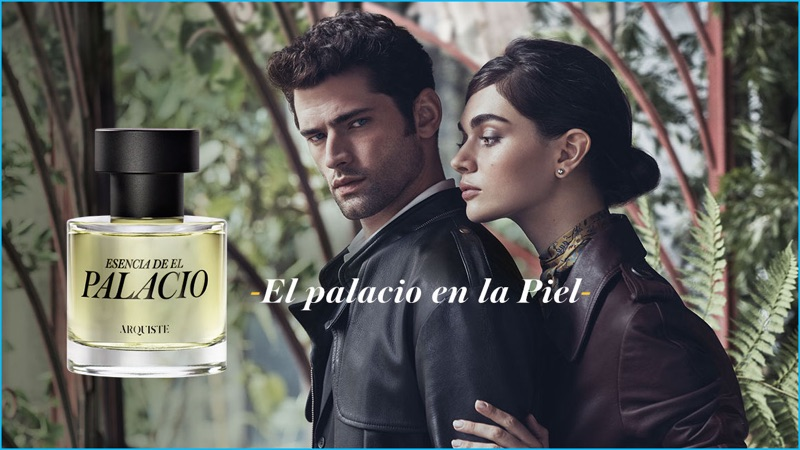 Dean Isidro photographs Sean O'Pry for the advertising campaign of Esencia de El Palacio.