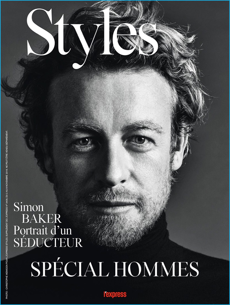 Simon Baker Is The Ultimate Gentleman For L Express Styles