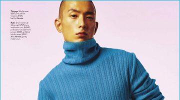Bending the Rules: Sung Jin Park Rocks Hermès for GQ Australia