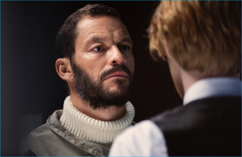 Dominic West and Domhnall Gleeson in The Tale of Thomas Burberry.