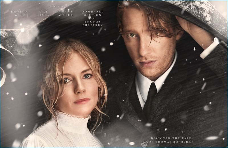 Sienna Miller and Domhnall Gleeson star in Burberry's new campaign, The Tale of Thomas Burberry.