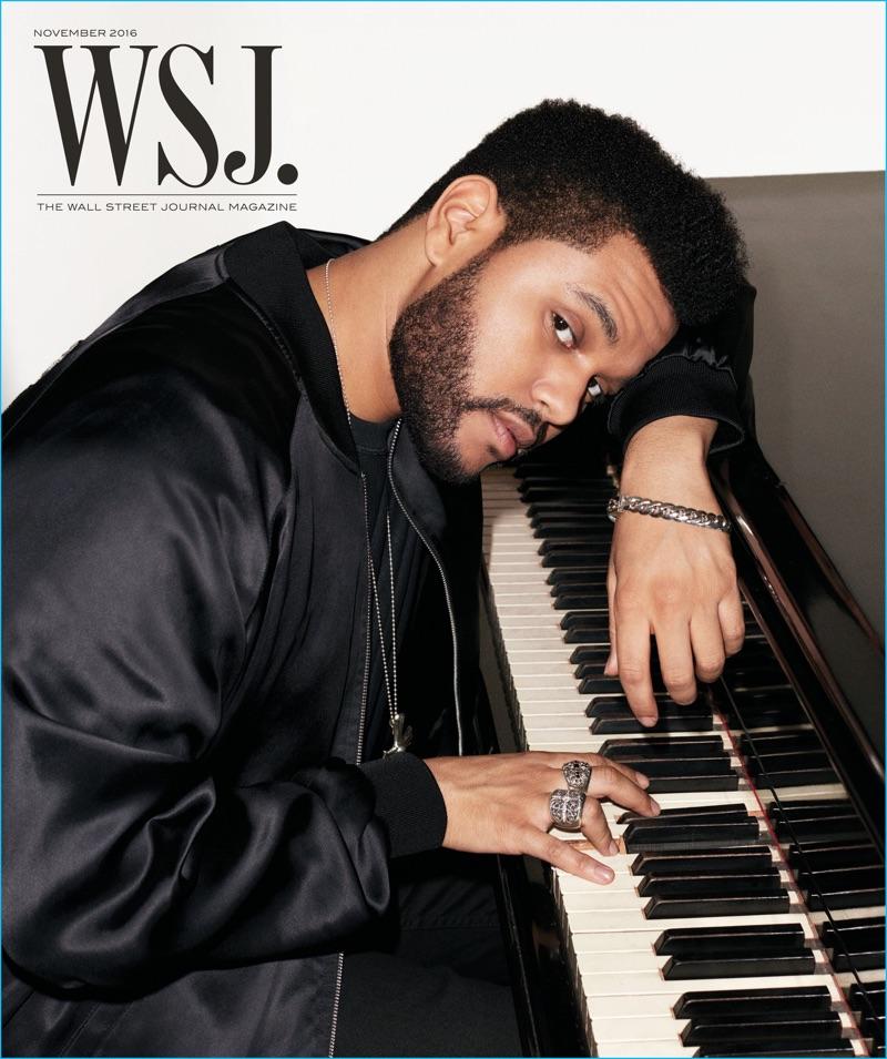 The Weeknd Covers Wsj Magazine Talks Haircut