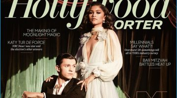 Tom Holland & Zendaya Channel Old Glamour for The Hollywood Reporter