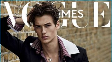 Vogue Hommes Paris Delivers Many Faces for Eclectic Cover Story