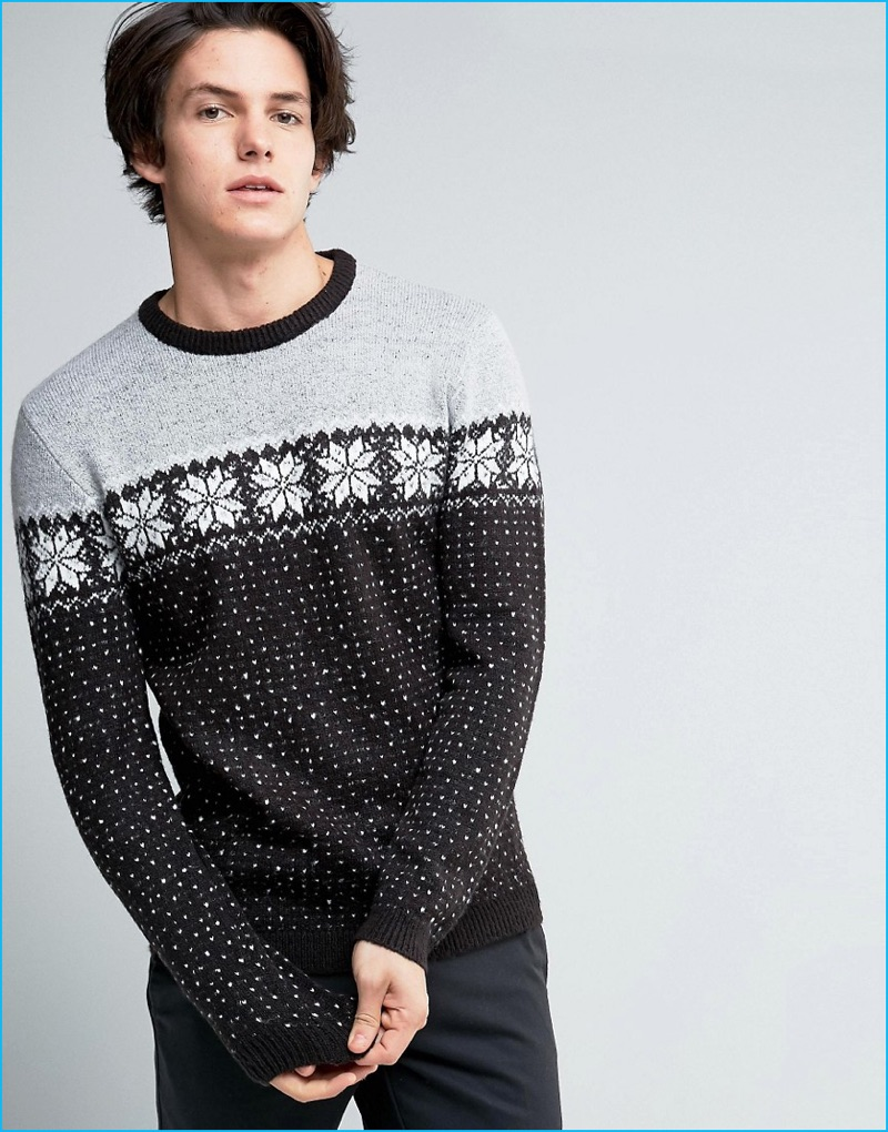 Men\'s Christmas Sweaters: ASOS Holiday 2016 | The Fashionisto