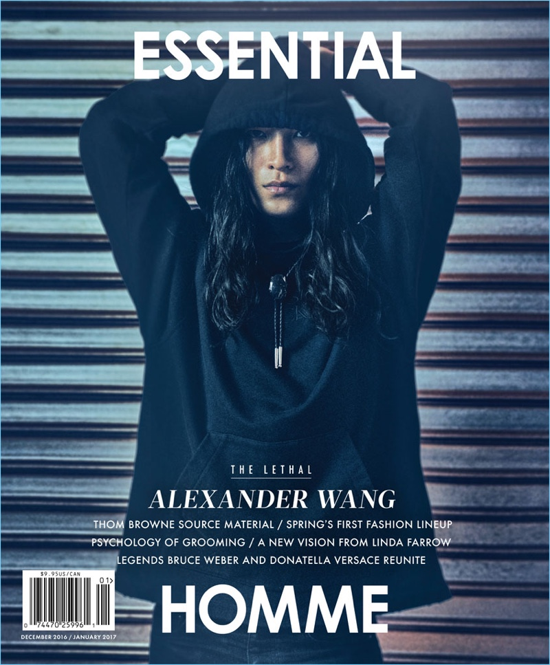 Essential Homme Spotlights Alexander Wang for New Cover Story