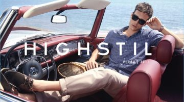 Alexandre Cunha Takes to the Beach for Highstil's Summer Campaign