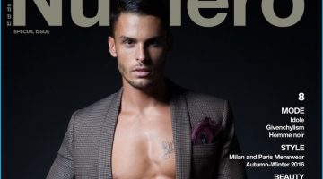 Baptiste Giabiconi Lands 2 Covers for Numéro Homme Thailand
