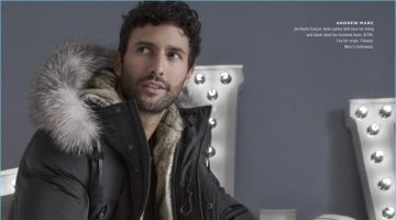 Zero Chill: Noah Mills Checks Into Winter with Bloomingdale's