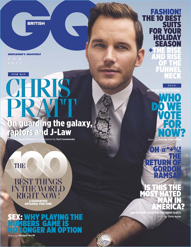 Chris Pratt Covers British GQ, Reflects on Life as a Struggling Actor