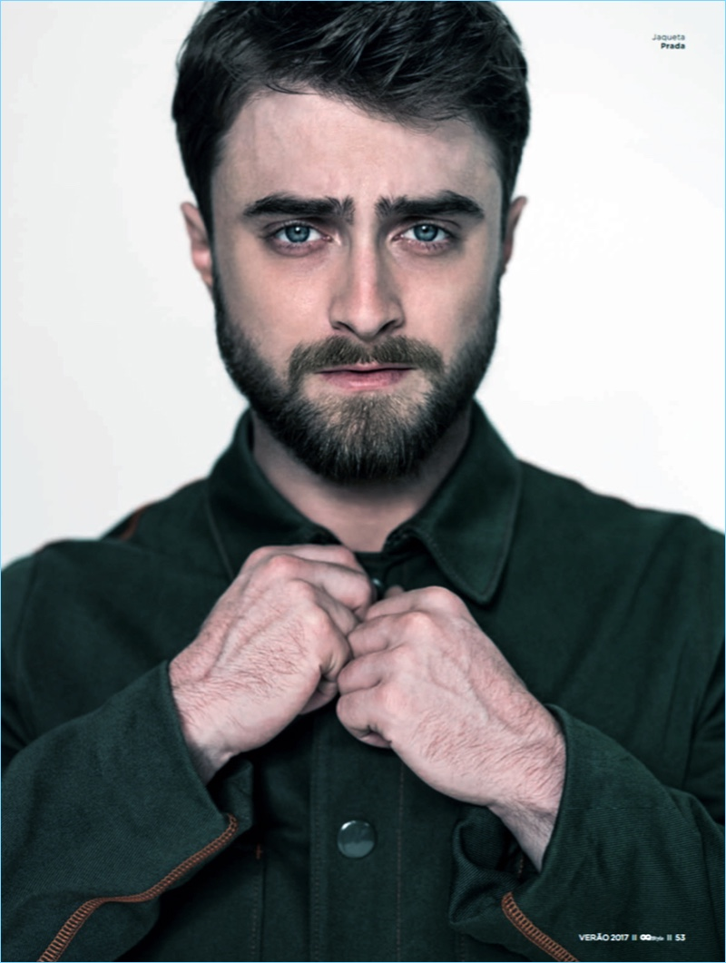 fd4de139a Daniel Radcliffe Dons Louis Vuitton & Prada for GQ Style Brasil Cover Story