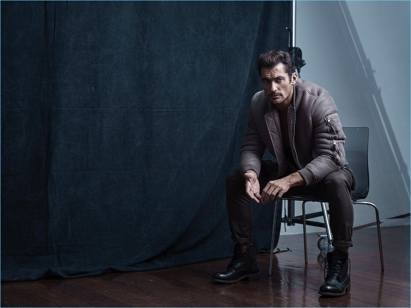 David Gandy Covers Men's Fitness UK, Talks Personal Style & Working Out