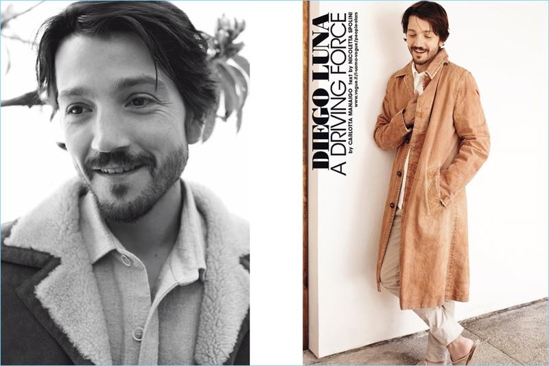 Diego Luna Appears In L Uomo Vogue Shoot Reflects On Y Tu Mama