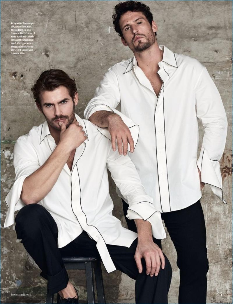 How to Spend It Tackles the White Shirt for Latest Cover Story