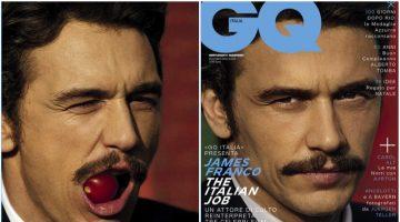 James Franco Delivers a Serious Gaze for GQ Italia Cover, Talks Porn