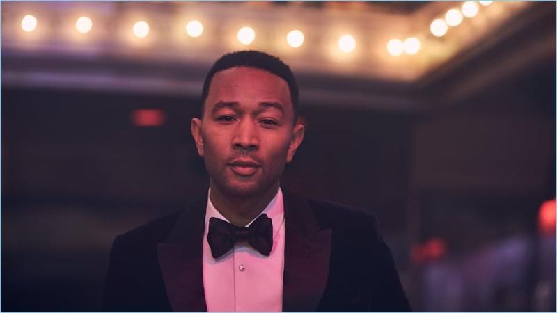 John Legend Goes Formal with Mr Porter's The Journal