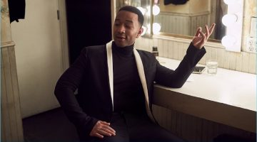 John Legend Goes Formal with Mr Porter's The Journal