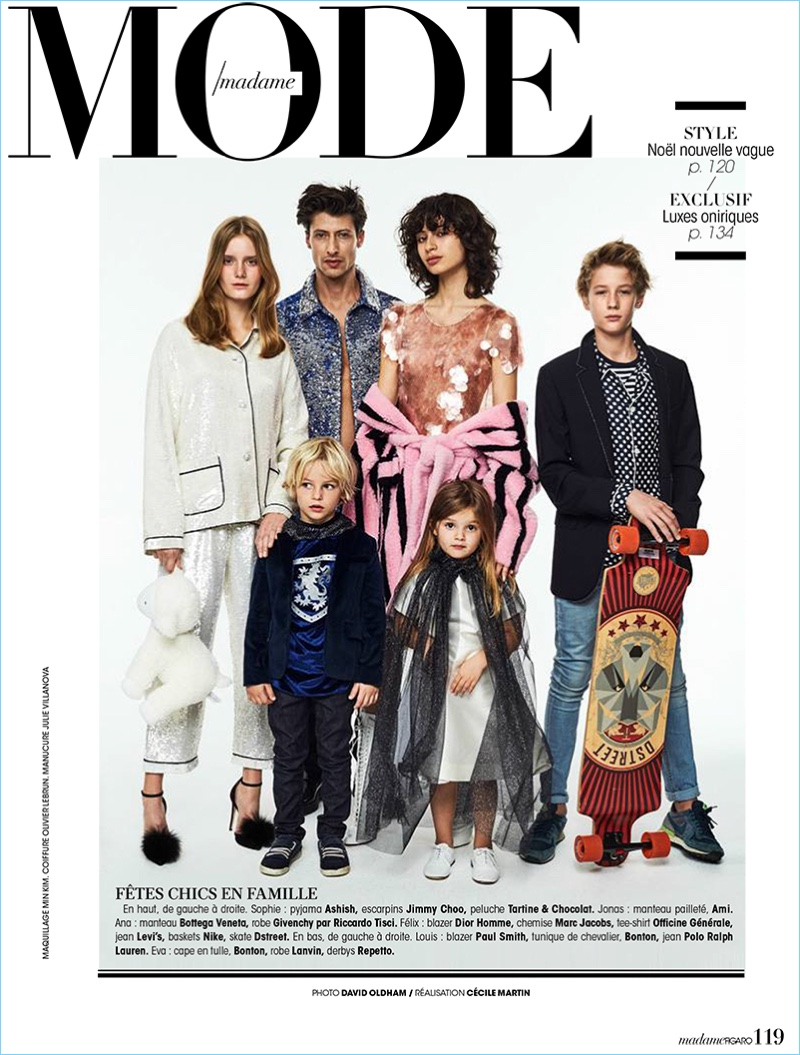 Jonas Mason is a Family Man of Style for Madame Figaro Cover Story