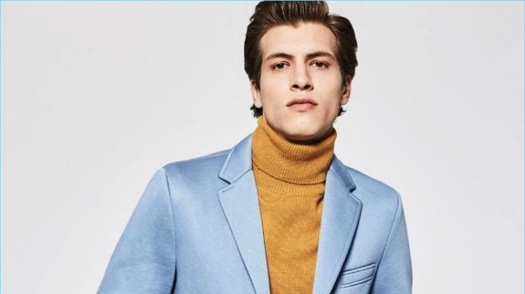 Adrian Cardoso Embraces BOSS' Sleek Lines for L'Officiel Hommes Ukraine