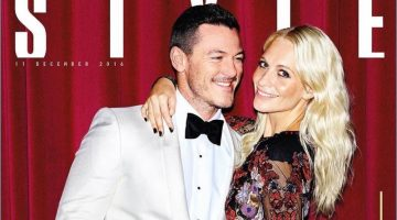 Party People: Luke Evans & Poppy Delevingne Bring Holiday Glamour to The Sunday Times