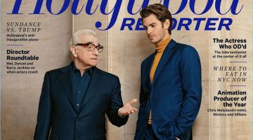 Andrew Garfield & Martin Scorsese Cover The Hollywood Reporter, Talk 'Silence'
