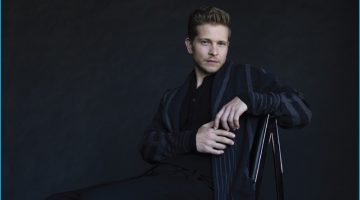Matt Czuchry Dons Dark Fall Fashions for Haute Living, Dishes on 'Gilmore Girls' Revival