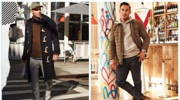 Michael Chernow Showcases Off-Duty Style with East Dane